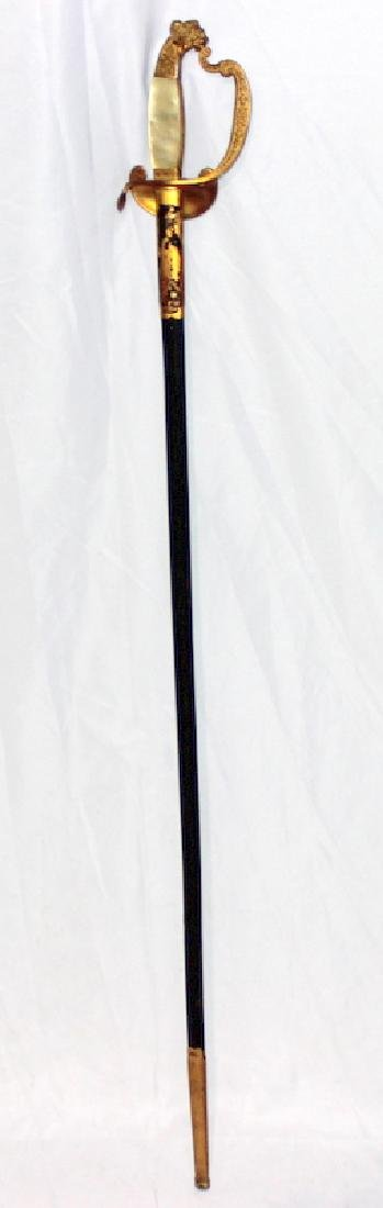 Royal Bavarian Court Degen Officer's Blade