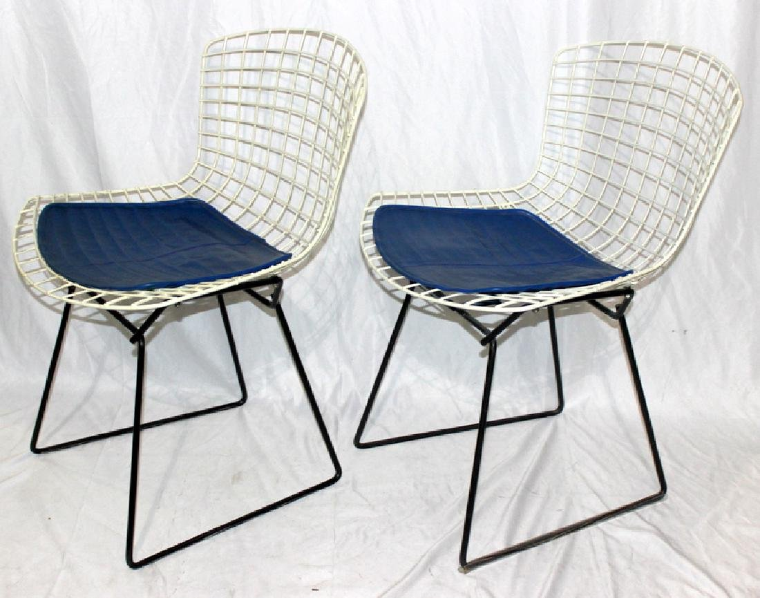 (6) Harry Bertoia for Knoll Wire Side Chairs