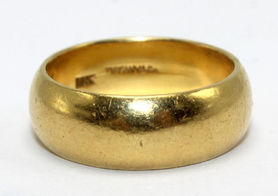 Tiffany & Co. 18Kt Solid YG Ring