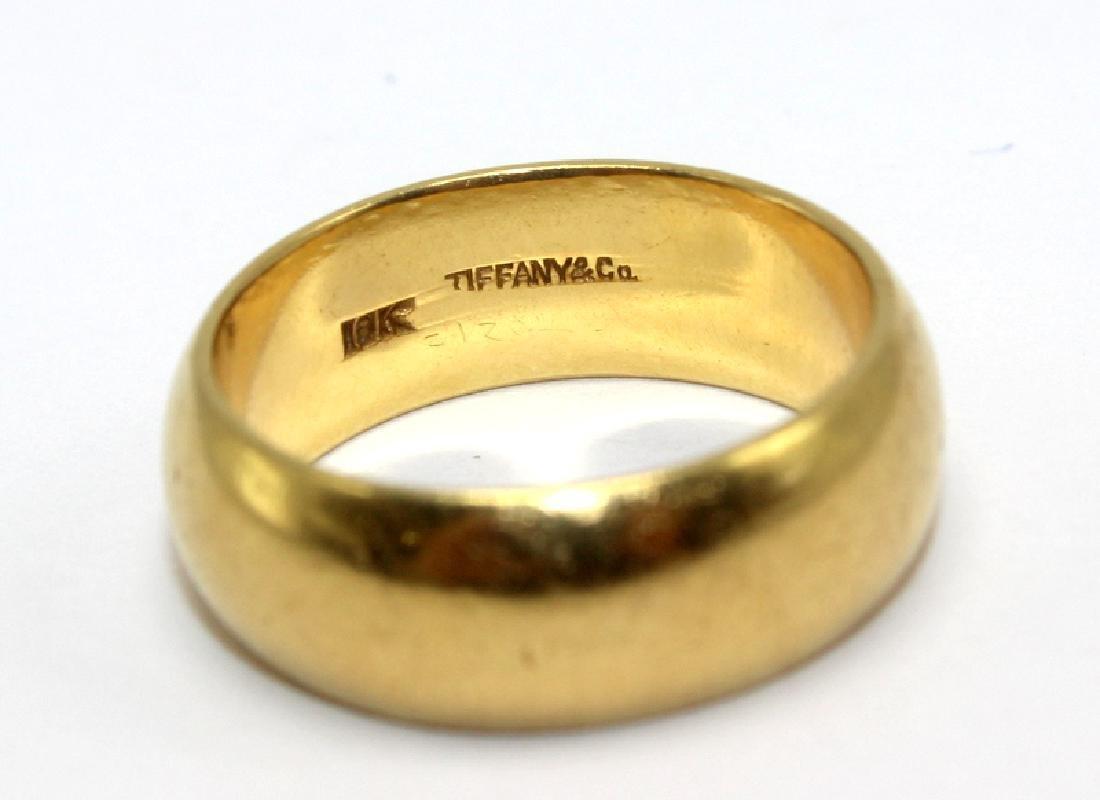 Tiffany & Co. 18Kt Solid YG Ring - 2