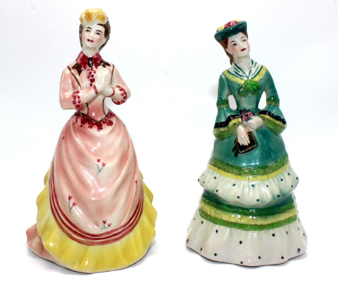 (2) Goldscheider Porcelain Figures