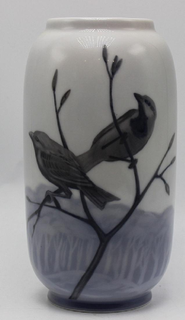 Royal Copenhagen Porcelain Vase #107