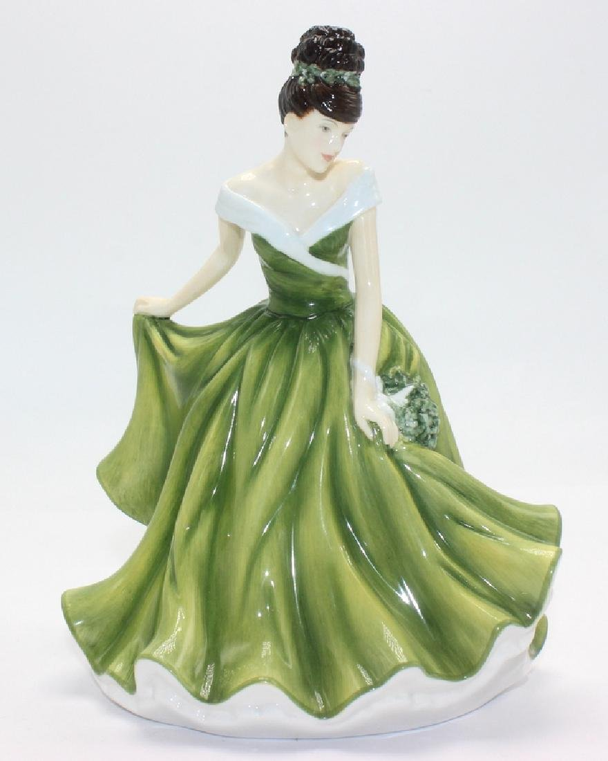 Royal Doulton Flower of the Month- December Figurine