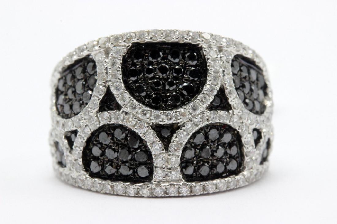 18Kt WG & 1.76ct. Diamond Ring