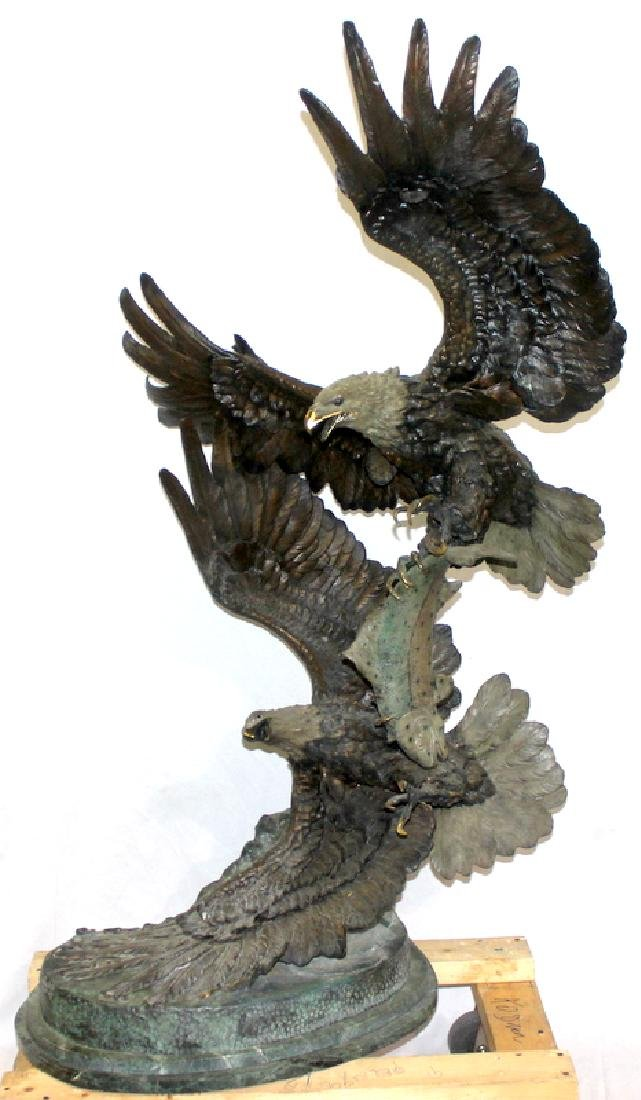 "Ed Chope (American, b.1815-1901) ""Survival III"" Bronze"