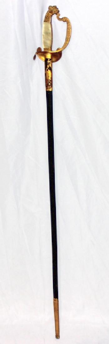 Royal Bavarian Court Degen Officer's Blade