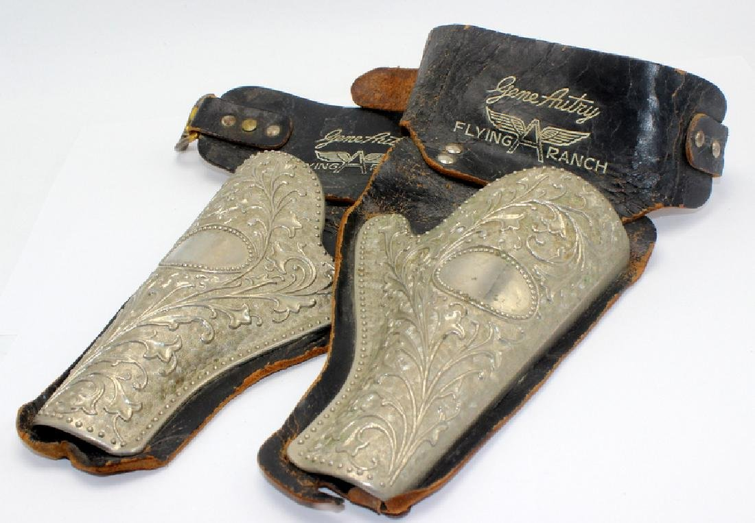 Pair of Gene Autry Belt Holsters