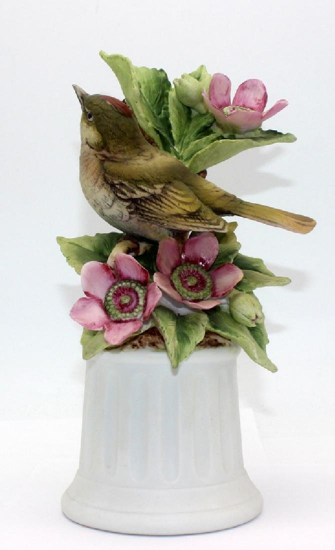 "Boehm ""Ruby-Crowned Kinglet"" Porcelain Figure"
