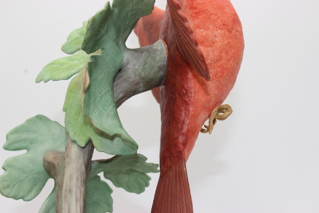 "Boehm ""Cardinal 415E"" Porcelain Figure - 3"