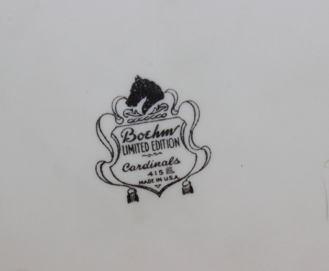 "Boehm ""Cardinal 415E"" Porcelain Figure - 4"