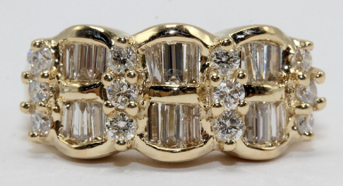 14Kt YG & 2.00ct. Diamond Ring
