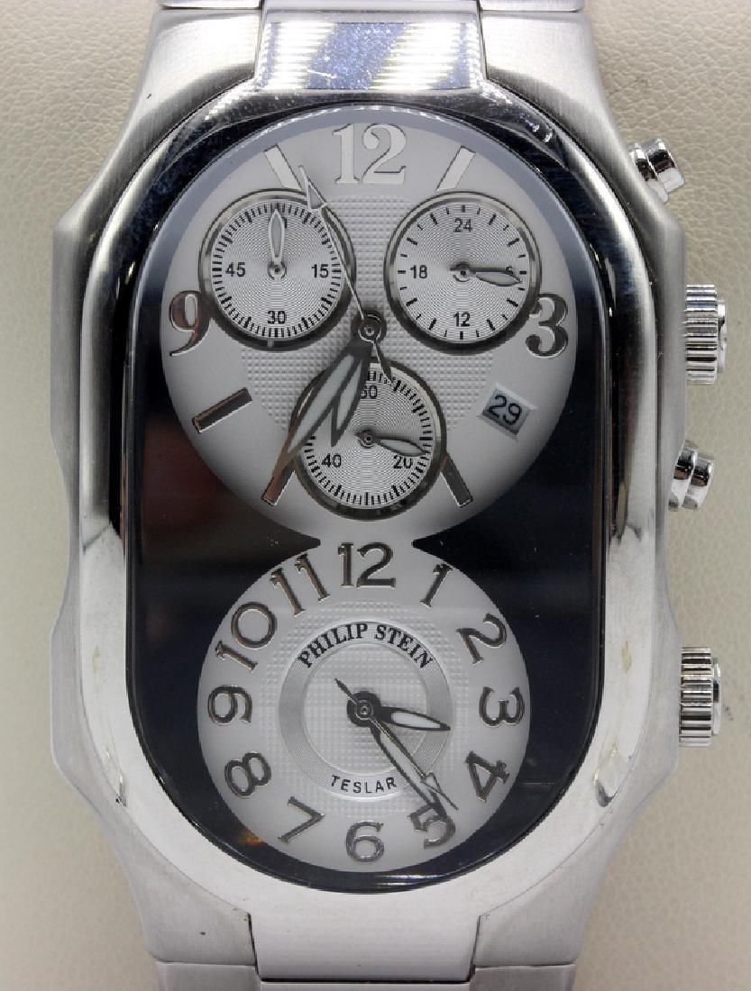 Philip Stein SS Chronograph Men's Watch