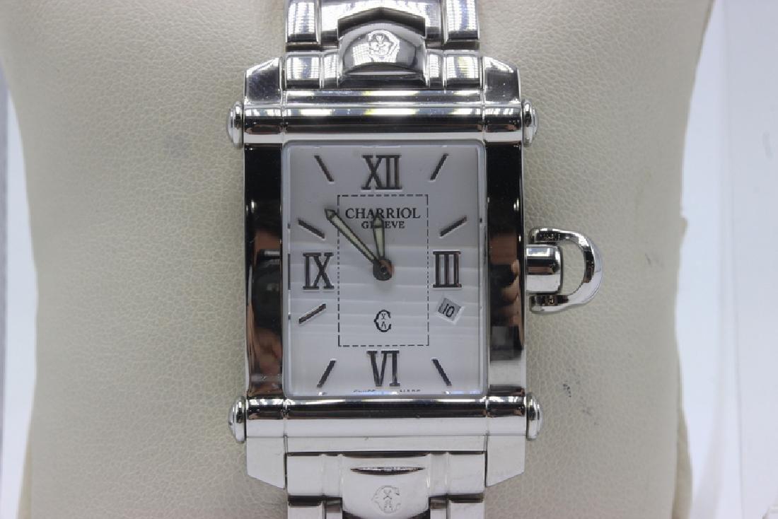 Philippe Charriol Columbus SS Quartz Men's Watch