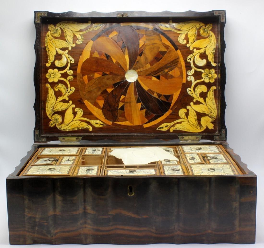 Coromandel Sewing Box Circa 1810