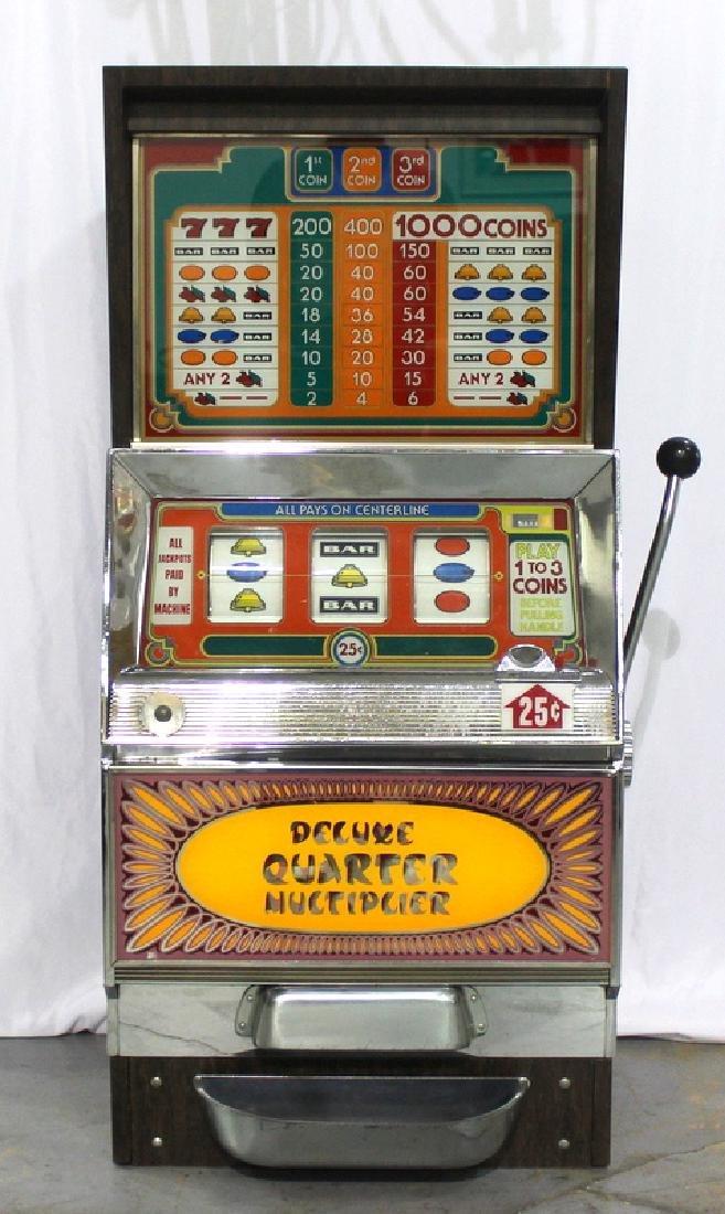 Bally Deluxe 25¢ Slot Machine