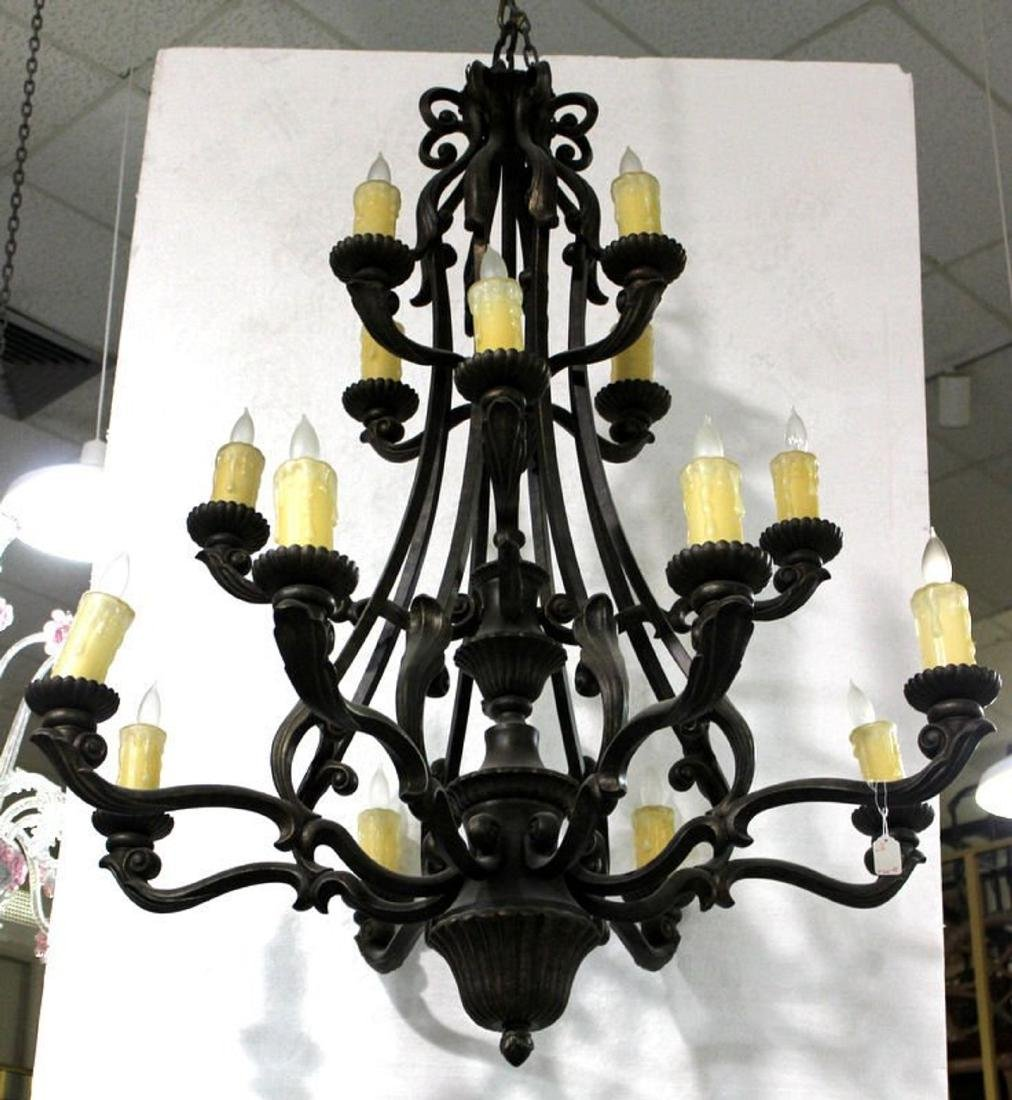 Beautiful Contemporary 16 Arm Chandelier
