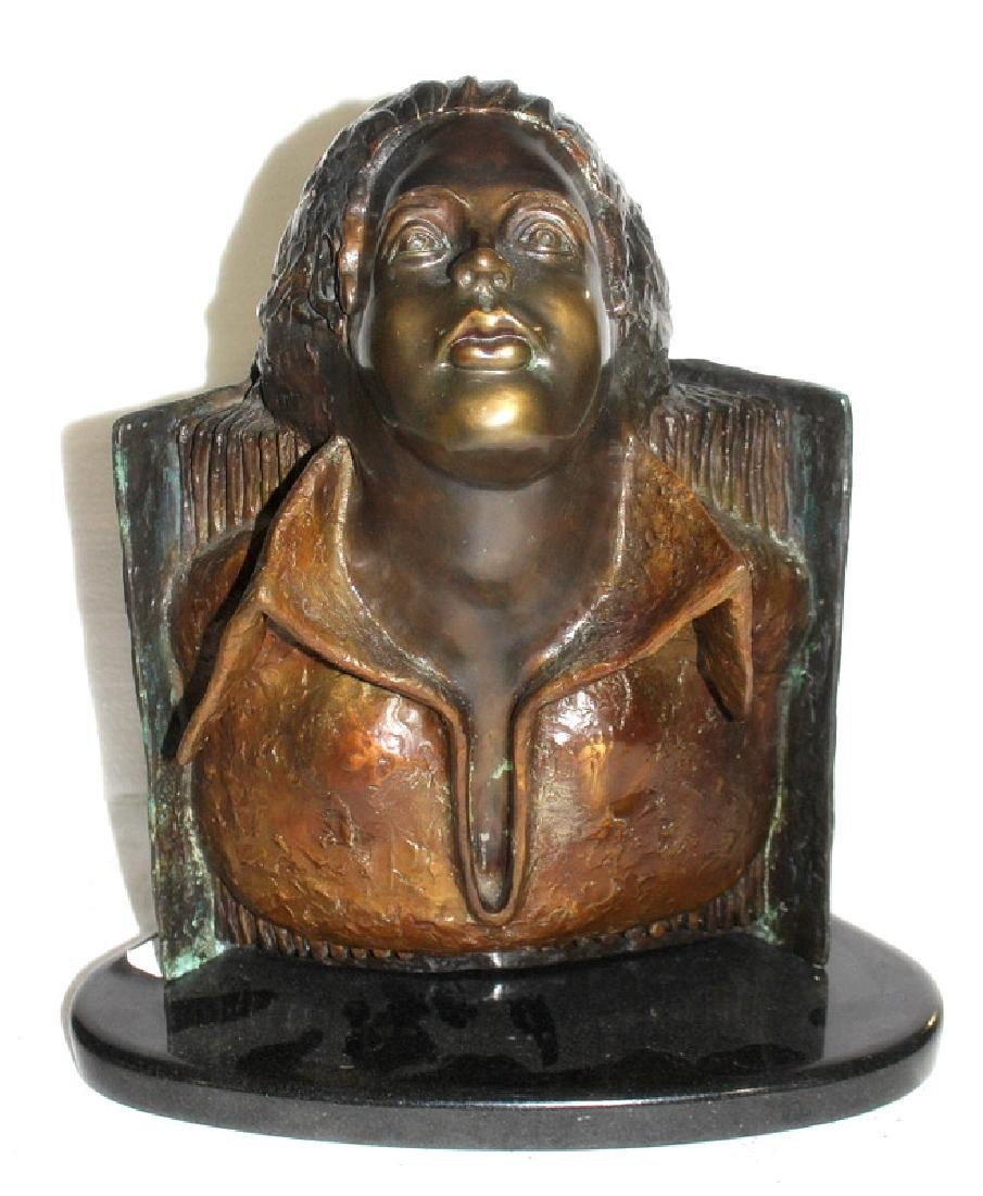 "Arthur Marshak ""Poets Fantasy"" #1/10 Bronze Sculpture"