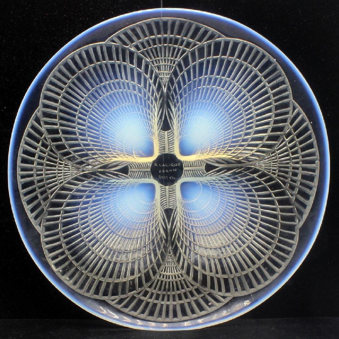 """Lalique France """"Coquilles"""" Plate"""
