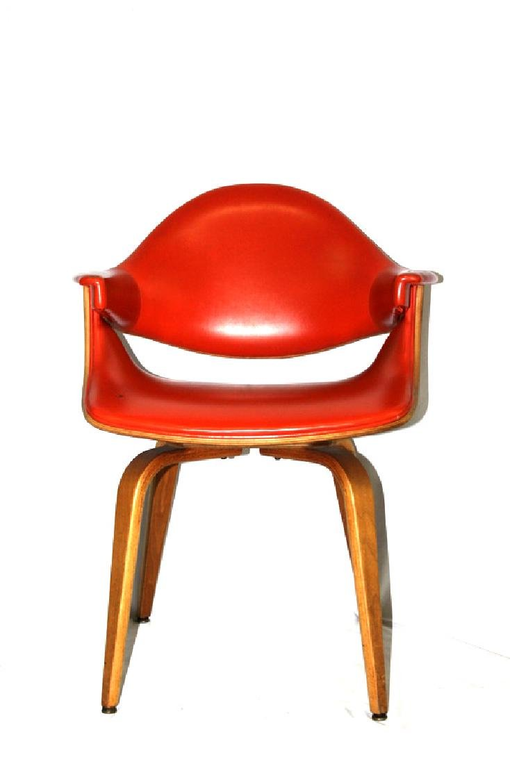 (2) Mid-Century Michael Thonet Style Chairs