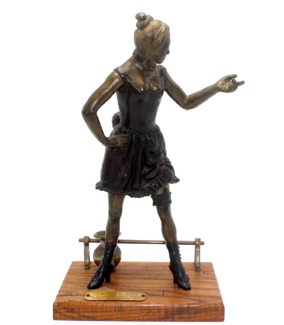 Lois Rumohr (American, b.1922-2012) Bronze Sculpture