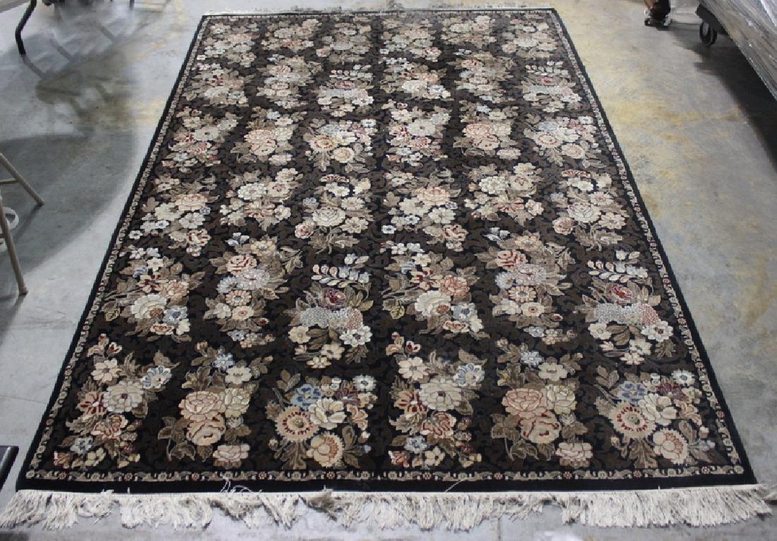 Indian 100% Wool Handmade Oriental Rug