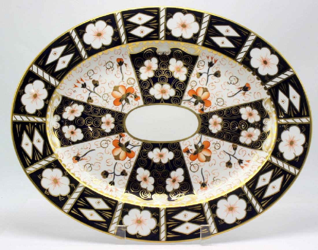 Royal Crown Derby Traditional Imari Serving Platter