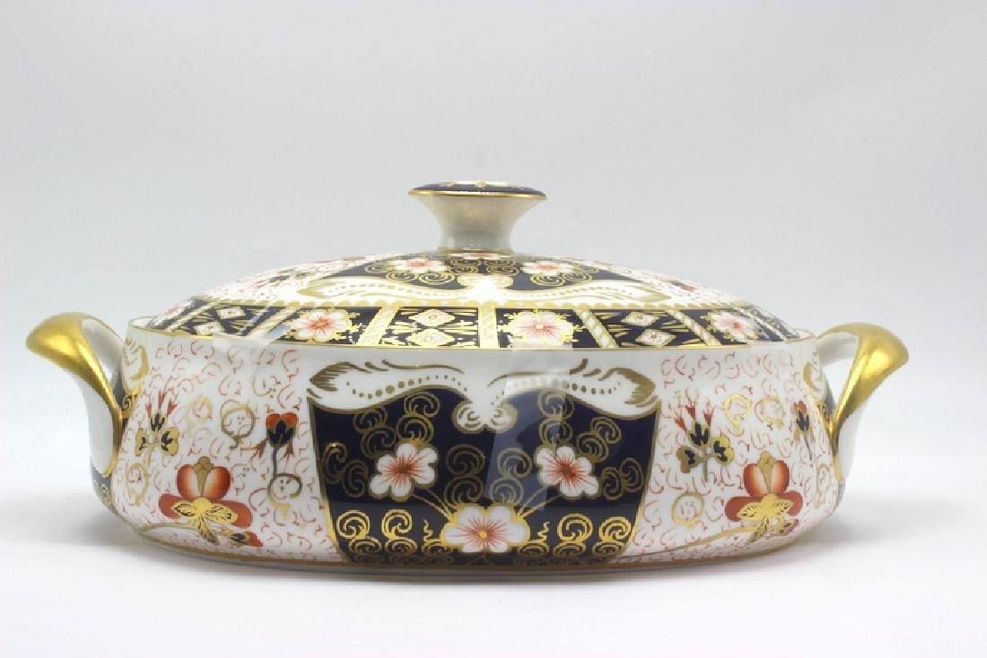 Royal Crown Derby Traditional Imari Covered Caserole