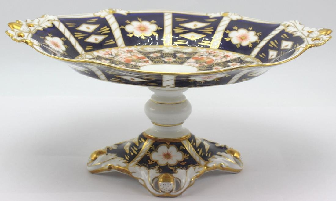 Royal Crown Derby Traditional Imari Compote