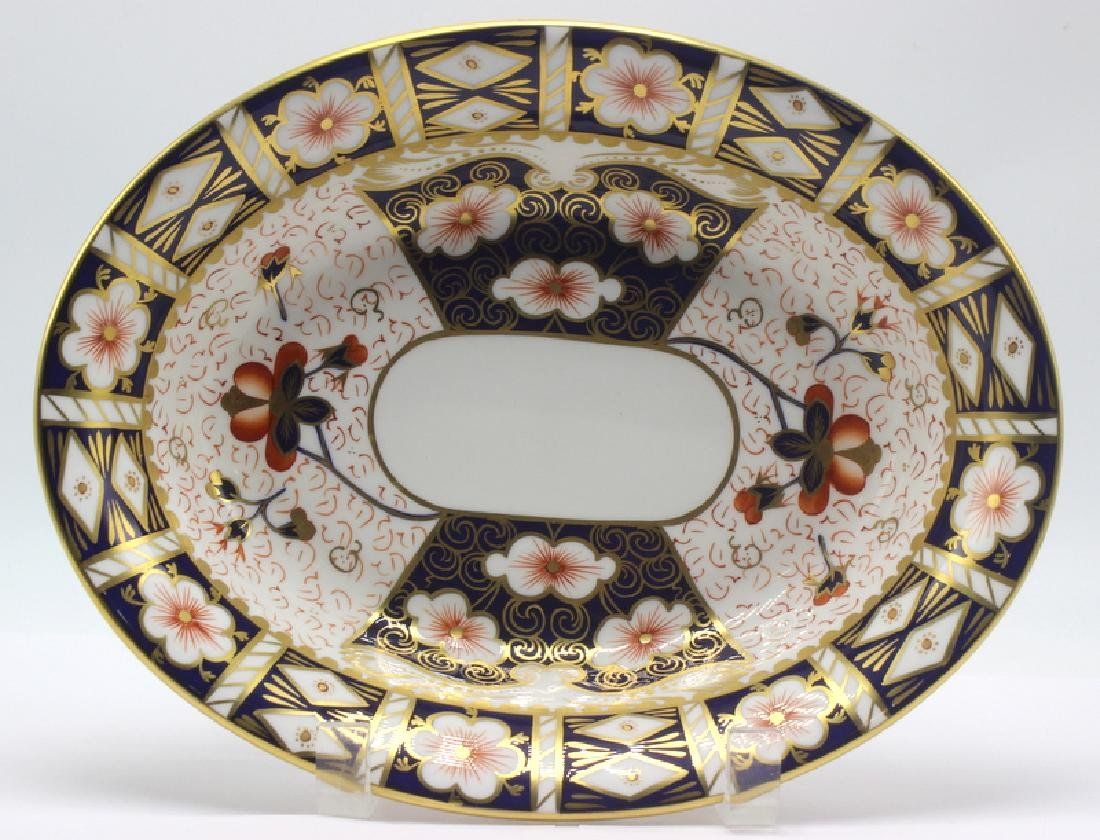 Royal Crown Derby Traditional Imari Serving Bowl