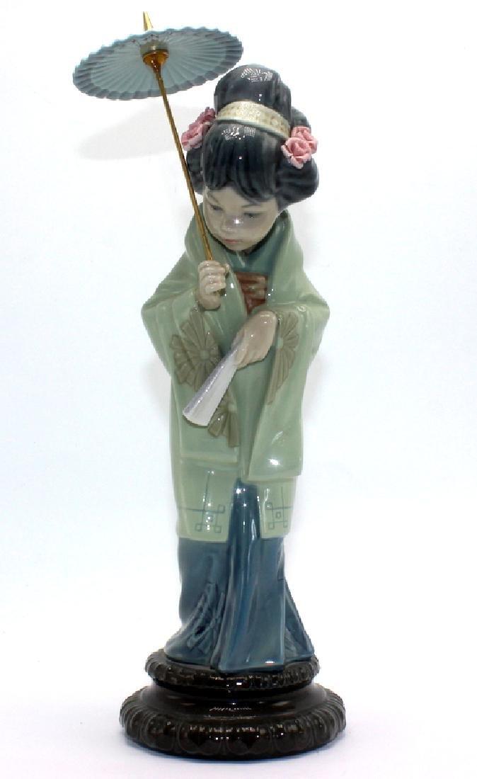 "Lladro ""Oriental Spring #4988"" Porcelain Figure"