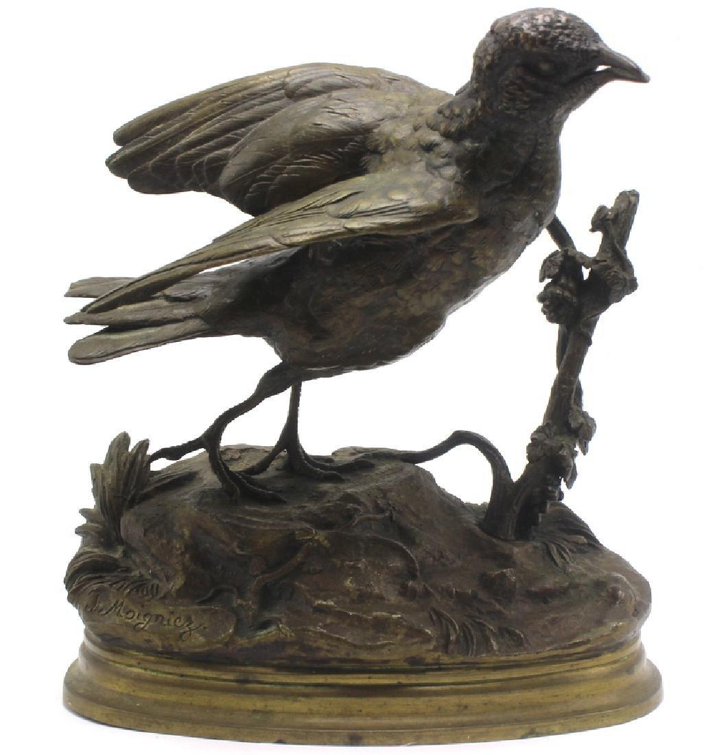 Jules Moigniez (French, b.1835-1894) Antique Bronze