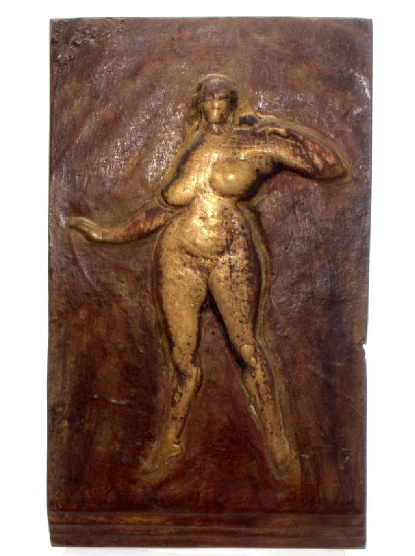 Gaston Lachaise (French, b.1882-1935) Bronze Relief