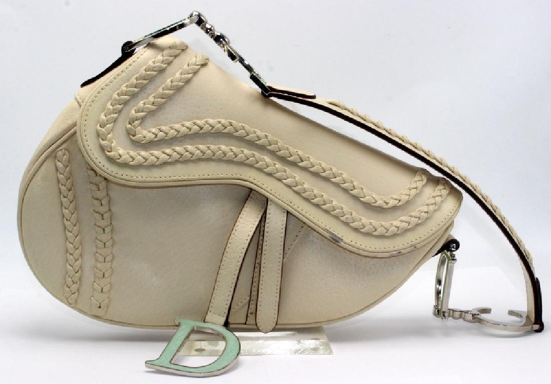 Christian Dior Limited Edition Saddle Bag