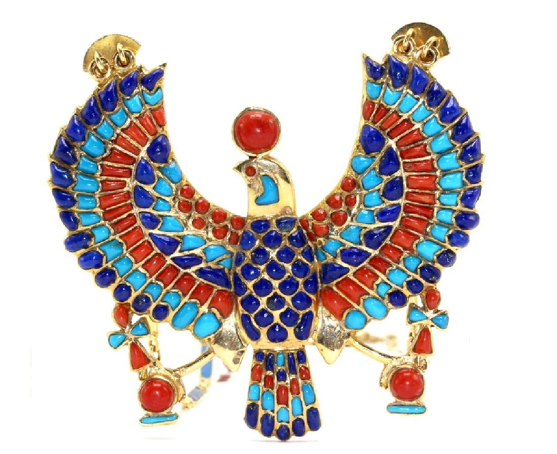 1950's Egyptian Revival Necklace