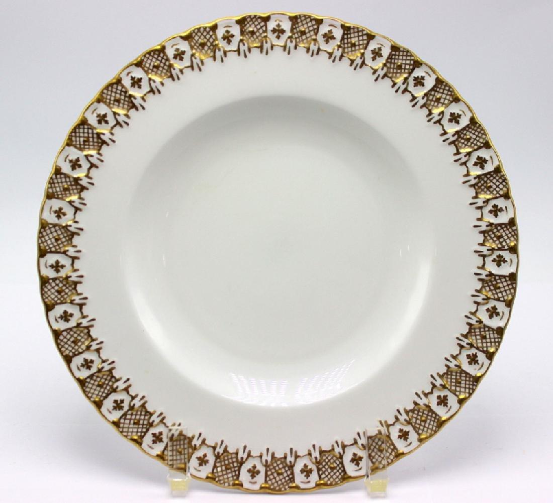 6 pc. Royal Crown Derby Porcelain Salad Plates