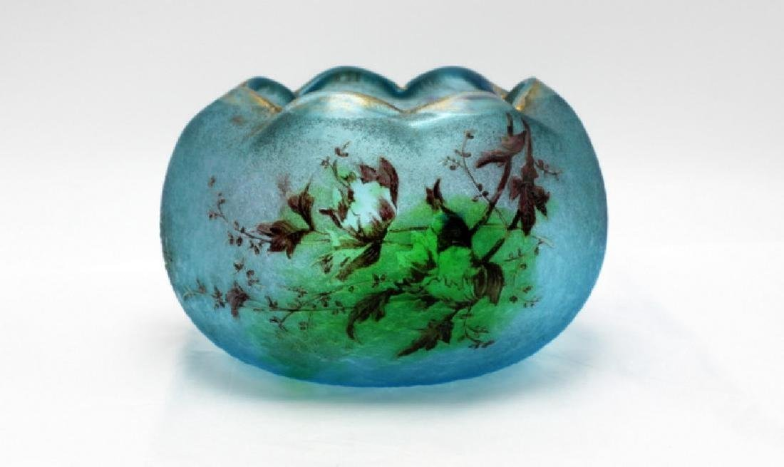 Daum Nancy Glass Bowl