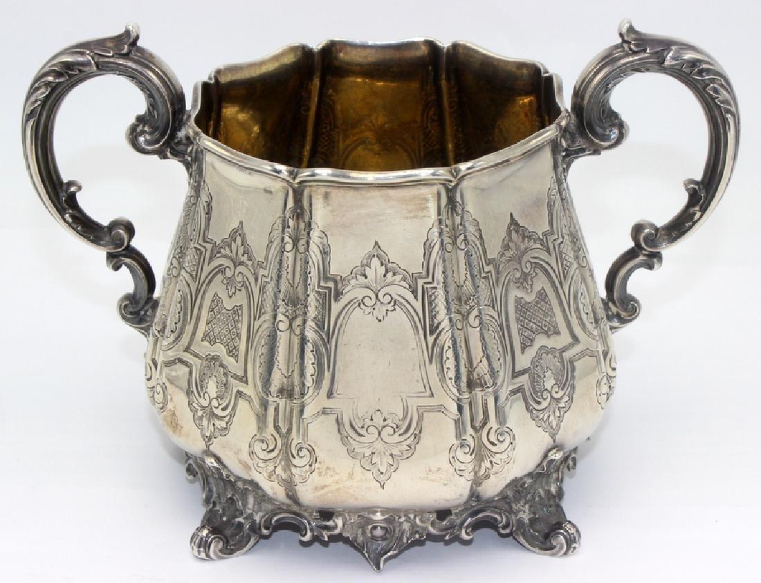 Brook & Son Sterling Silver Sugar Bowl