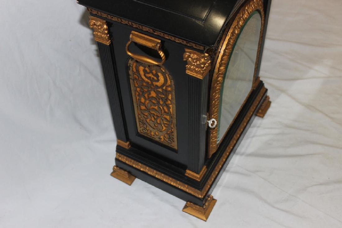 Antique English Bracket Moon phase Clock - 6