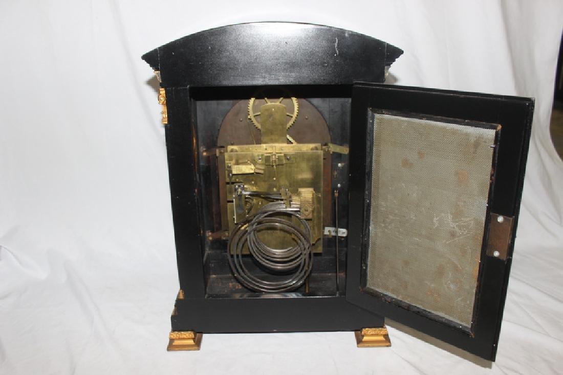 Antique English Bracket Moon phase Clock - 7