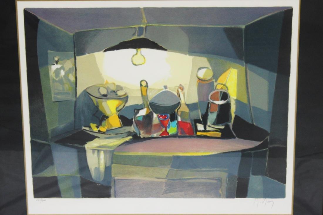 """Marcel Mouly """"Objets Sous La Lampe"""" Lithograph - 2"""