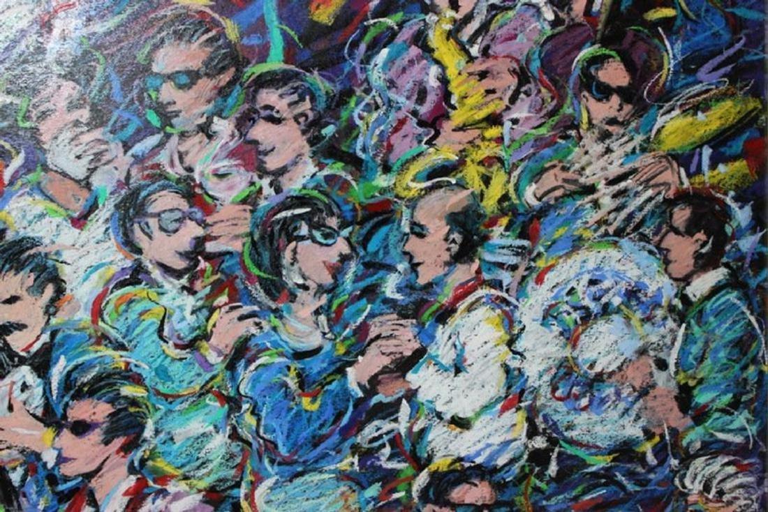 """Romero Britto (Brazilian, b.1963) """"New York Wine"""" - 5"""