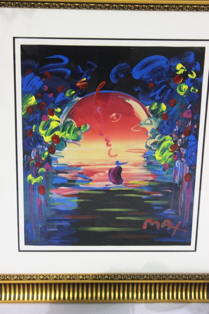 Peter Max (German, b.1947) Rainforest Foundation Mixed - 2