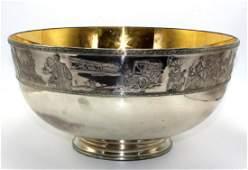 Rare Franklin Mint Bicentennial 14Kt YG Inlaid &