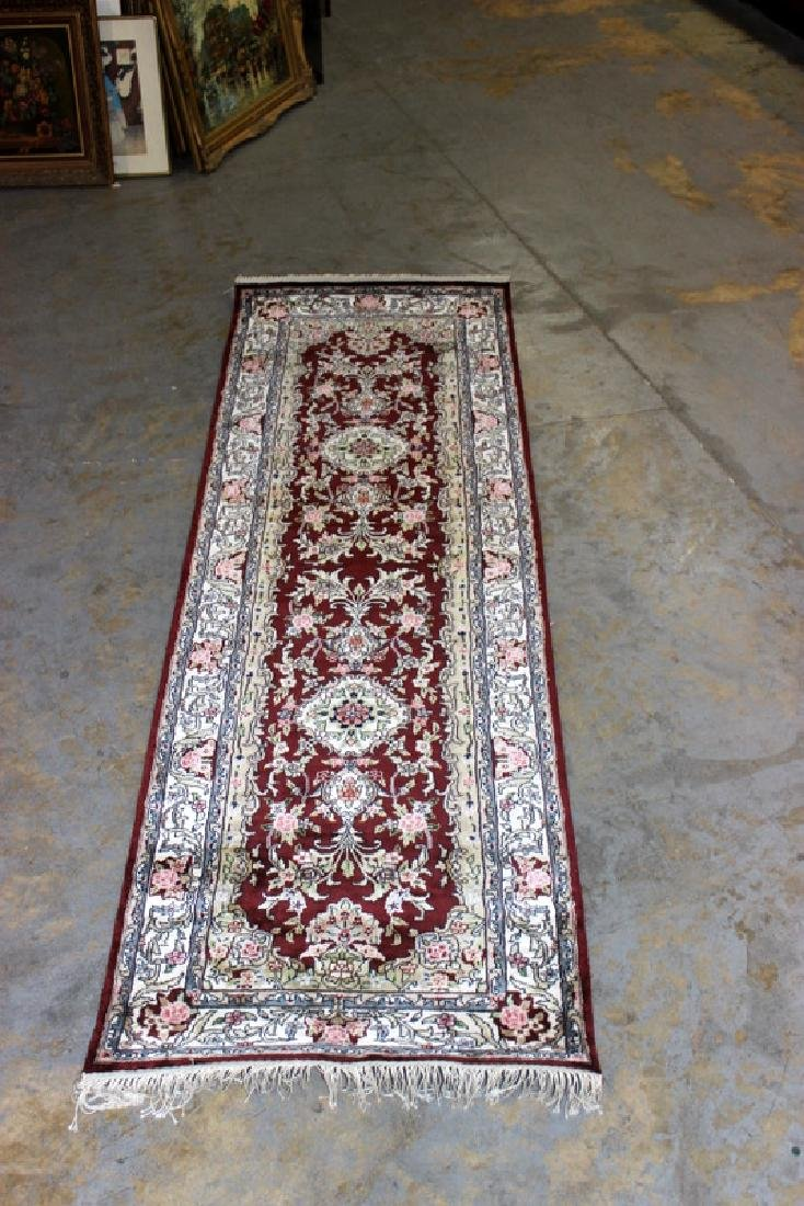Persian Silk Rug Runner