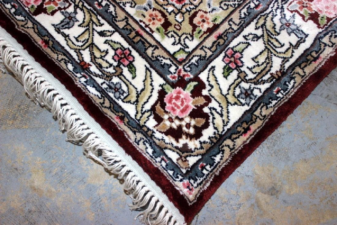Persian Silk Rug Runner - 2