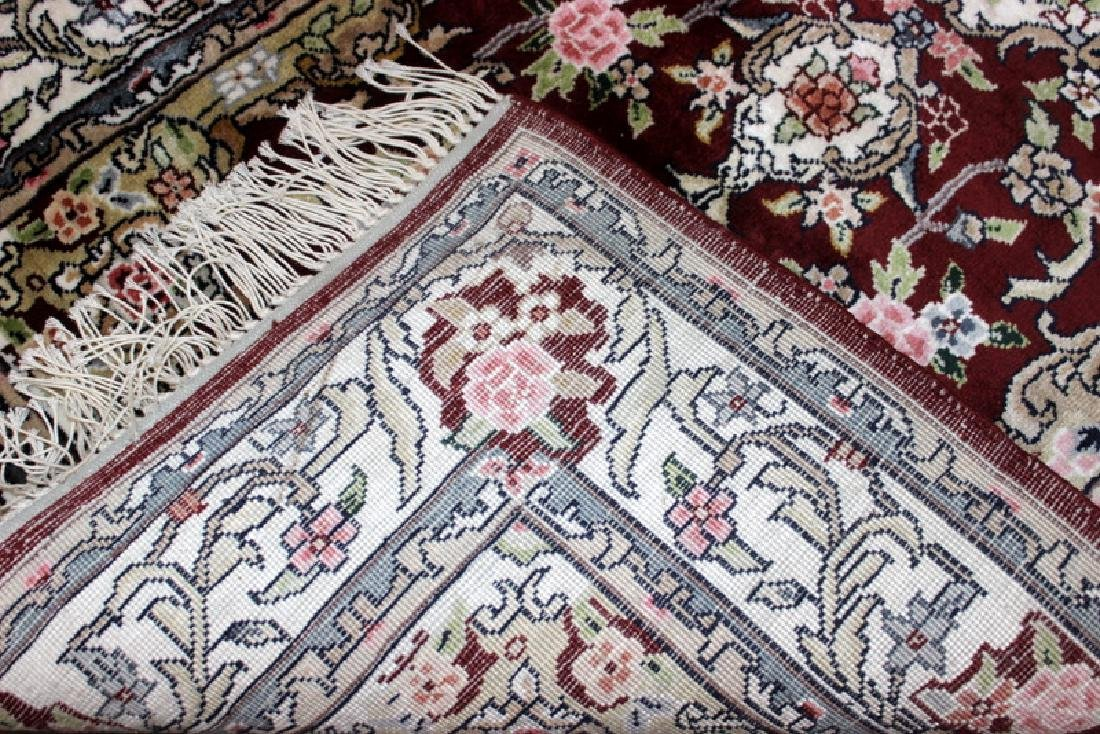 Persian Silk Rug Runner - 3