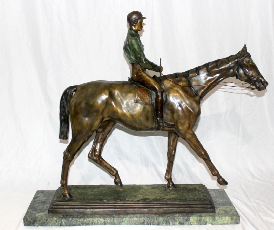 Isidore Jules Bonheur (French, b.1827-1901) Jockey on
