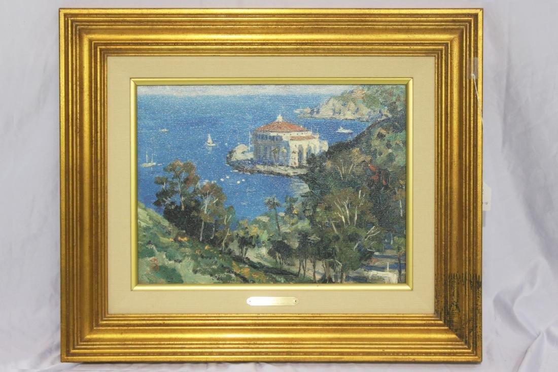 "Thomas Kinkade (American, b.1958-2012) ""Catalina, View"