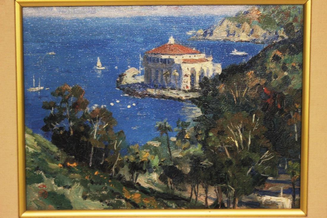 "Thomas Kinkade (American, b.1958-2012) ""Catalina, View - 2"