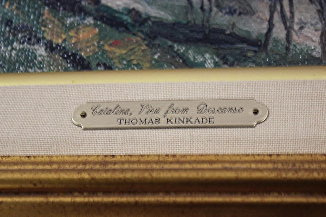 "Thomas Kinkade (American, b.1958-2012) ""Catalina, View - 3"